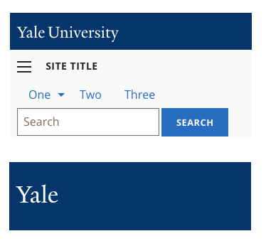 Yale ui style guide | user experience & design services.